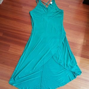 NEW! Emerald green Venus Jersey dress. Medium.